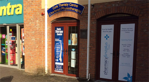 Cork Therapy Centre front door